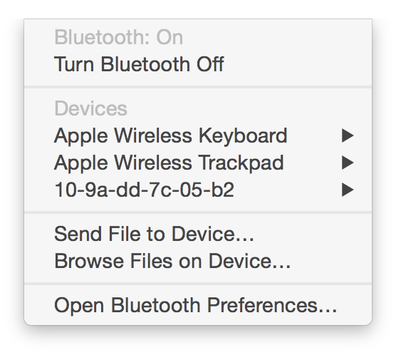 Turn Bluetooth Off didn't exist for such a long time :(